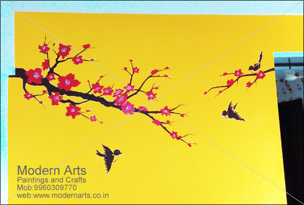 wall Painting artist Mumbai, Wall painting services in Mumbai, navi ...