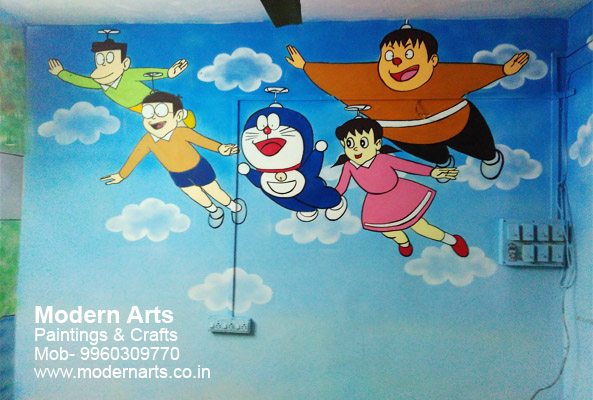 ... Play School Wall Painitng Design ... Part 61