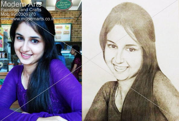 Pencil Sketch Artist In Delhi
