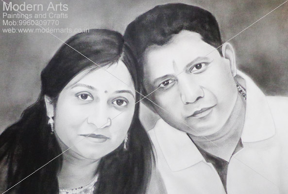 Pencil sketch artist in mumbai