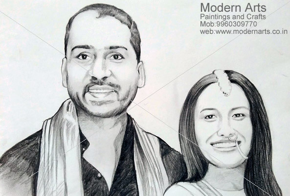 Pencil sketch artist in navi mumbai
